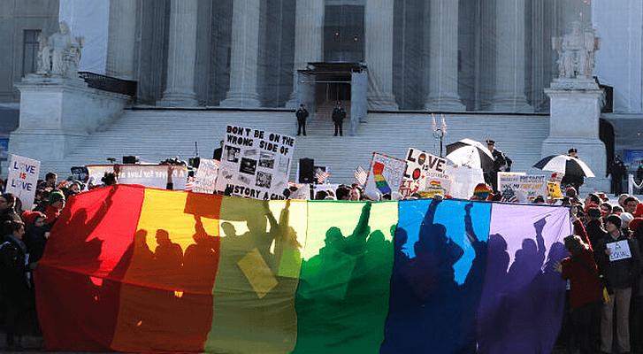 Gay-Marriage-SCOTUS-Protest