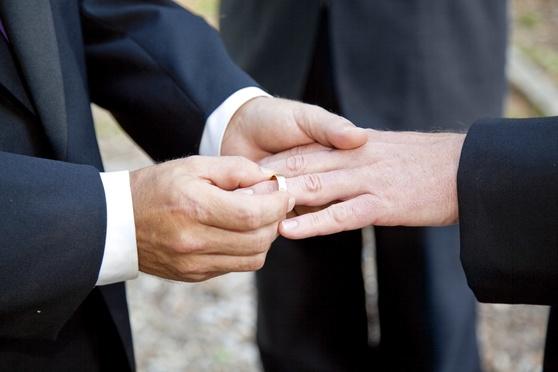 Gay Wedding Exchanging Rings-Article-201401131332